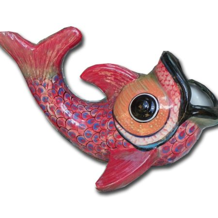 Ceramic Fish Figurine From San Antonio Palopo