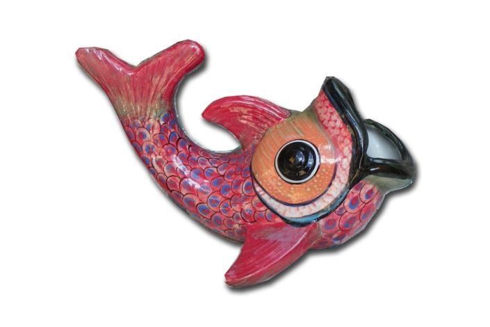 Ceramic Fish Figurine From San Antonio Palopo