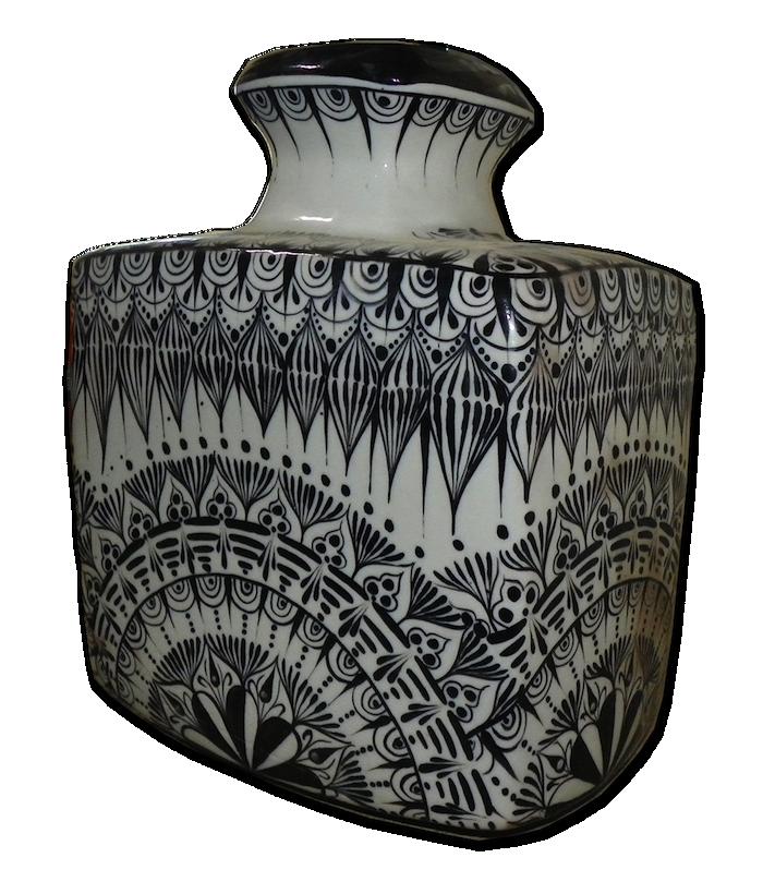 San Antonio Palopo Hand Made Ceramic Crock