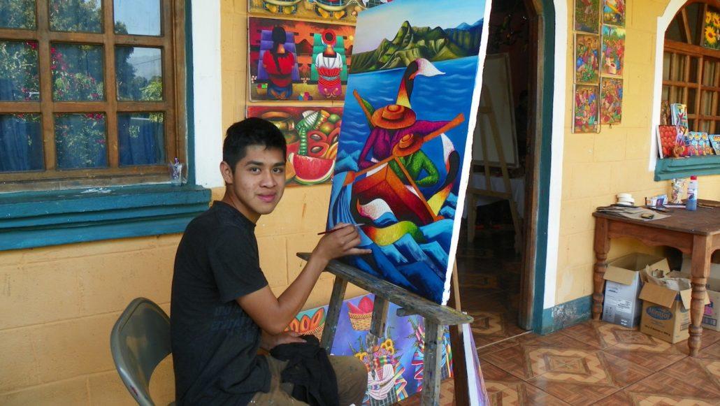 Guatemala Landscape Oil Paintings