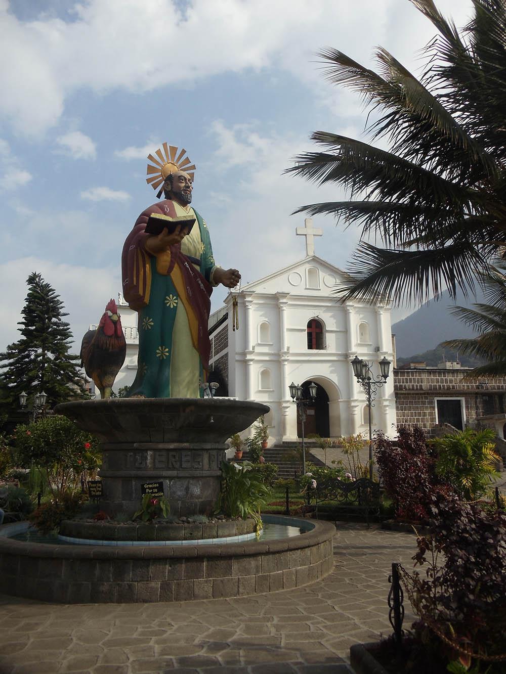 Church of St. Peter is located in San Pedro La Laguna