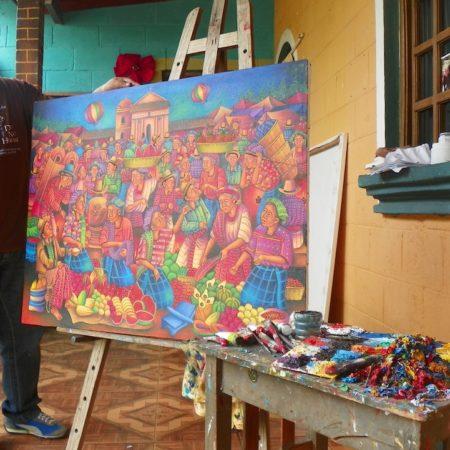 San Juan La Laguna Painting Class