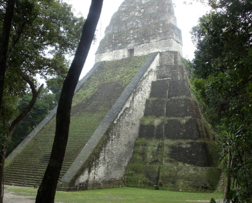 Guatemala has many Mayan Ruins