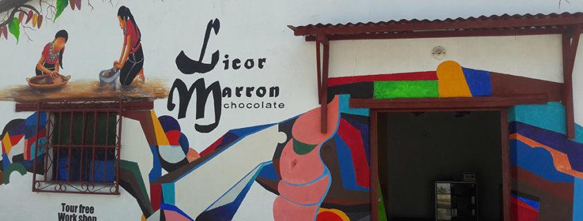 Licor Marrón Chocolate
