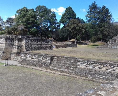 Mayan Ruins Iximche Guatemala